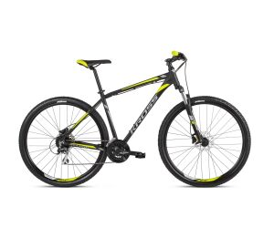 Kross Hexagon 5.0 (27.5) Black/Graphite/Lime Matte 2021
