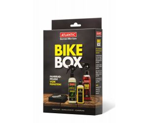 Atlantic Bike box - sada čistič 200ml, lesk 200ml, olej 100ml a utěrka