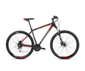 Kross Hexagon 6.0 (27.5) Black/Graphite/Red Matte 2021
