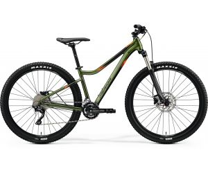 Merida Matts 7.300 Silk Fog Green(Black/Orange) 2020