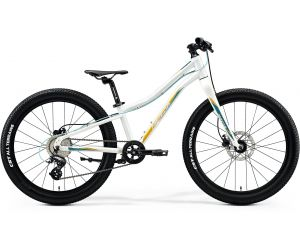 Merida Matts J.24+ Glossy White(Teal/Gold) 2020